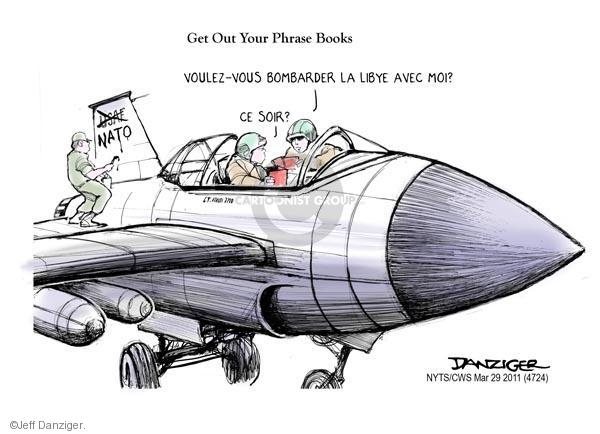 Cartoonist Jeff Danziger  Jeff Danziger's Editorial Cartoons 2011-03-29 United States Air Force