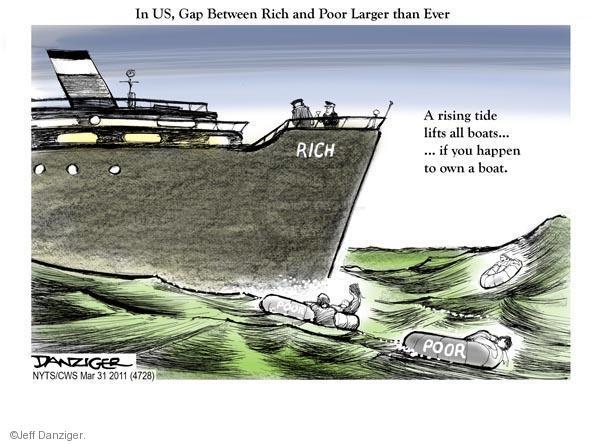 Jeff Danziger  Jeff Danziger's Editorial Cartoons 2011-03-31 yacht