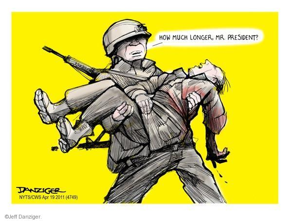 Cartoonist Jeff Danziger  Jeff Danziger's Editorial Cartoons 2011-04-19 Barack Obama