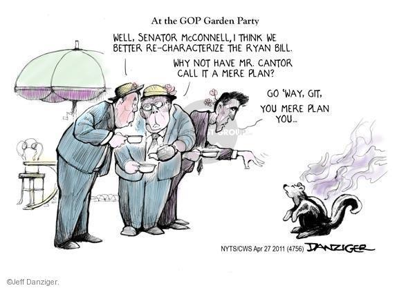 Cartoonist Jeff Danziger  Jeff Danziger's Editorial Cartoons 2011-04-27 Eric Cantor