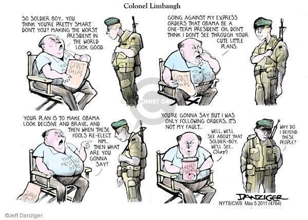 Jeff Danziger  Jeff Danziger's Editorial Cartoons 2011-05-05 defend