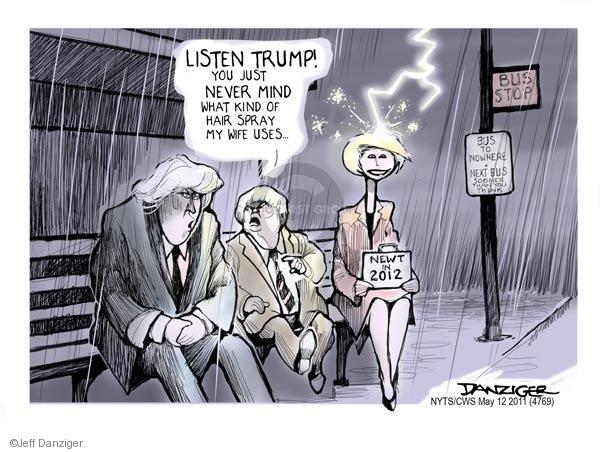 Cartoonist Jeff Danziger  Jeff Danziger's Editorial Cartoons 2011-05-12 speaker