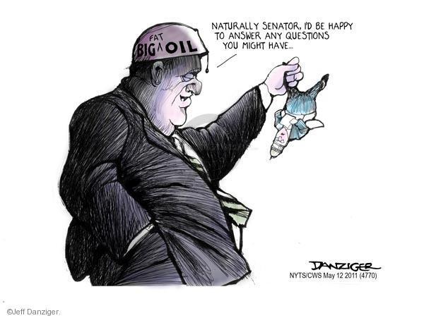 Cartoonist Jeff Danziger  Jeff Danziger's Editorial Cartoons 2011-05-12 company