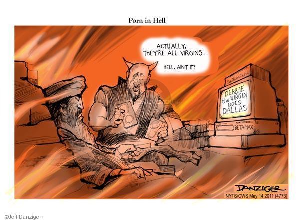 Cartoonist Jeff Danziger  Jeff Danziger's Editorial Cartoons 2011-05-14 Osama bin Laden