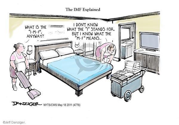Jeff Danziger  Jeff Danziger's Editorial Cartoons 2011-05-18 hotel