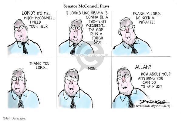 Jeff Danziger  Jeff Danziger's Editorial Cartoons 2011-05-20 2012 election