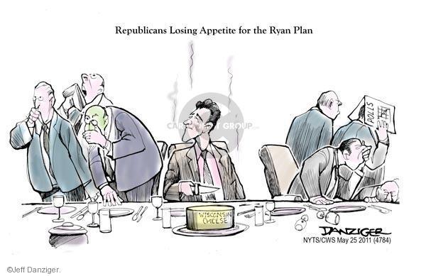 Cartoonist Jeff Danziger  Jeff Danziger's Editorial Cartoons 2011-05-25 Ryan