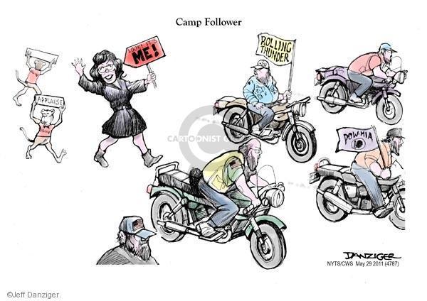 Cartoonist Jeff Danziger  Jeff Danziger's Editorial Cartoons 2011-05-29 Vietnam War