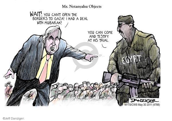 Cartoonist Jeff Danziger  Jeff Danziger's Editorial Cartoons 2011-05-30 former president
