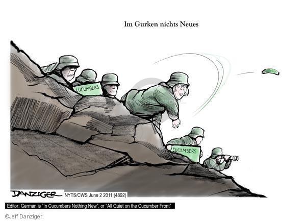Jeff Danziger  Jeff Danziger's Editorial Cartoons 2011-06-02 front