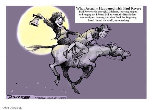 Cartoonist Jeff Danziger  Jeff Danziger's Editorial Cartoons 2011-06-06 American History
