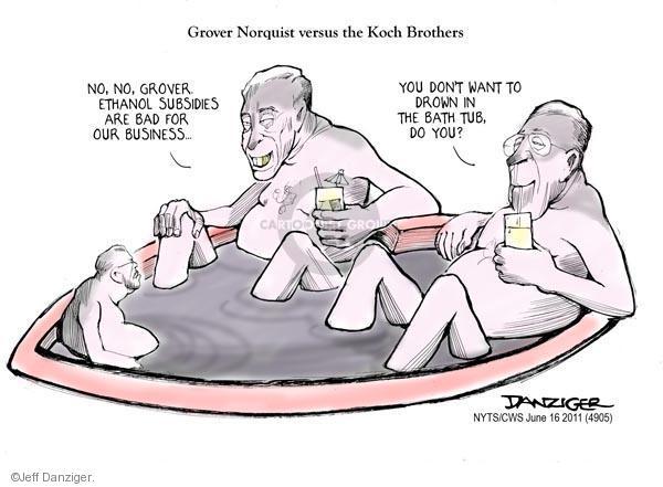 Jeff Danziger  Jeff Danziger's Editorial Cartoons 2011-06-16 Charles