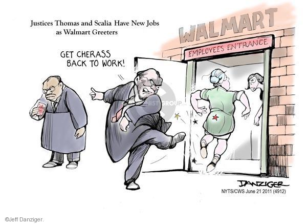 Jeff Danziger  Jeff Danziger's Editorial Cartoons 2011-06-21 employment work