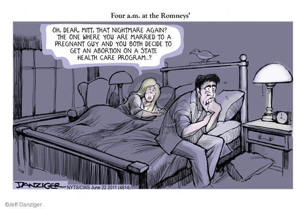 Cartoonist Jeff Danziger  Jeff Danziger's Editorial Cartoons 2011-06-22 woman