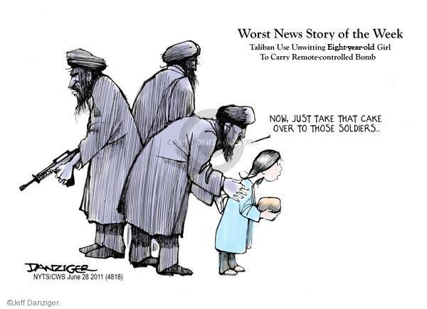 Cartoonist Jeff Danziger  Jeff Danziger's Editorial Cartoons 2011-06-28 bomb