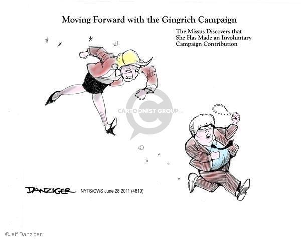 Cartoonist Jeff Danziger  Jeff Danziger's Editorial Cartoons 2011-06-28 speaker