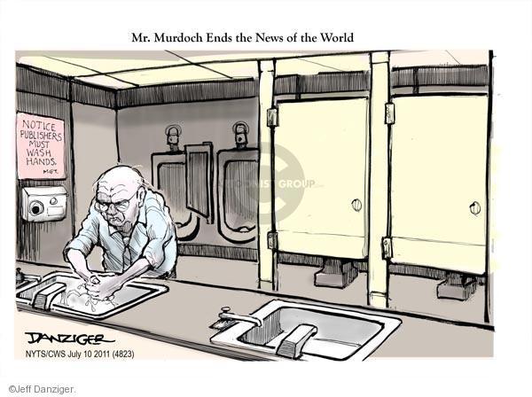 Jeff Danziger  Jeff Danziger's Editorial Cartoons 2011-07-10 news media