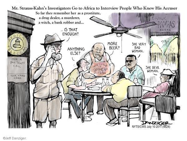 Jeff Danziger  Jeff Danziger's Editorial Cartoons 2011-07-10 integrity