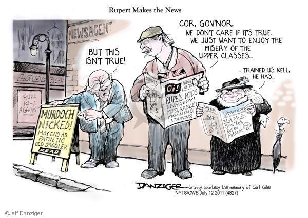 Cartoonist Jeff Danziger  Jeff Danziger's Editorial Cartoons 2011-07-12 isn't