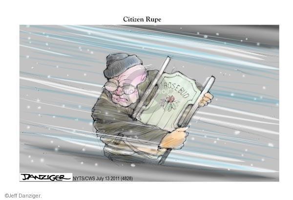 Jeff Danziger  Jeff Danziger's Editorial Cartoons 2011-07-13 newspaper journalism