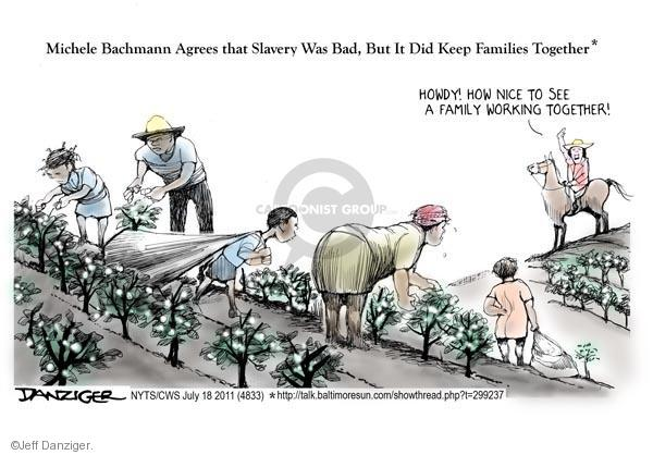 Cartoonist Jeff Danziger  Jeff Danziger's Editorial Cartoons 2011-07-18 American