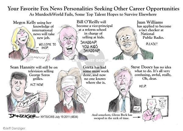 Cartoonist Jeff Danziger  Jeff Danziger's Editorial Cartoons 2011-07-19 seek
