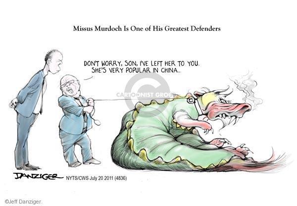 Jeff Danziger  Jeff Danziger's Editorial Cartoons 2011-07-20 defend