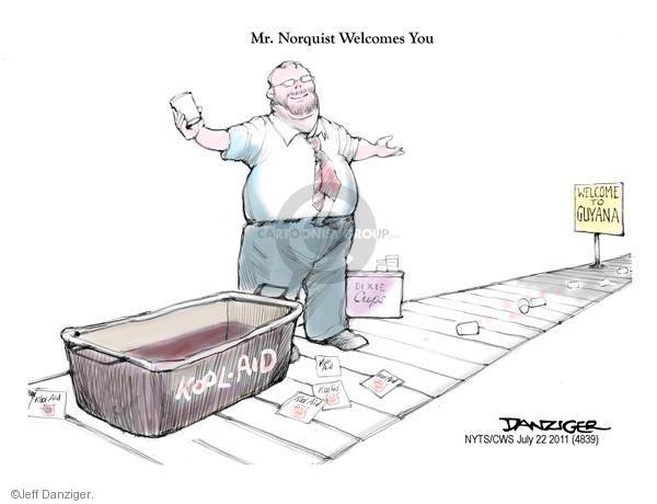 Cartoonist Jeff Danziger  Jeff Danziger's Editorial Cartoons 2011-07-22 republican
