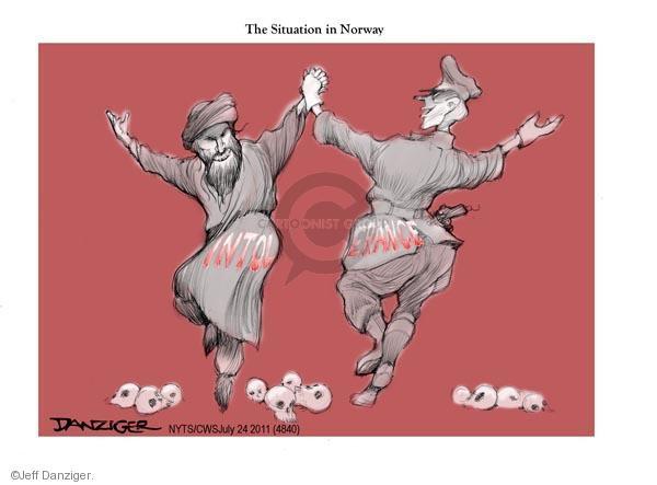 Jeff Danziger  Jeff Danziger's Editorial Cartoons 2011-07-24 extremist
