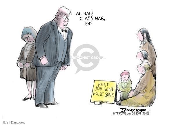 Cartoonist Jeff Danziger  Jeff Danziger's Editorial Cartoons 2011-07-26 impoverished