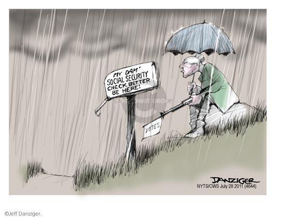 Cartoonist Jeff Danziger  Jeff Danziger's Editorial Cartoons 2011-07-28 check