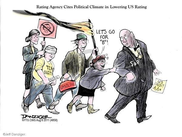 Jeff Danziger  Jeff Danziger's Editorial Cartoons 2011-08-08 federal budget