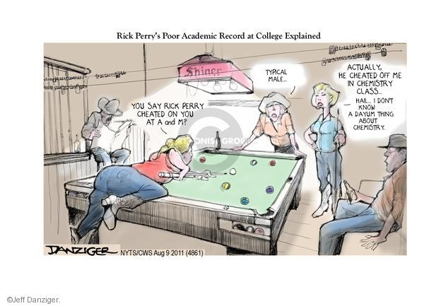 Cartoonist Jeff Danziger  Jeff Danziger's Editorial Cartoons 2011-08-09 tavern