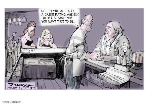 Jeff Danziger  Jeff Danziger's Editorial Cartoons 2011-08-09 integrity