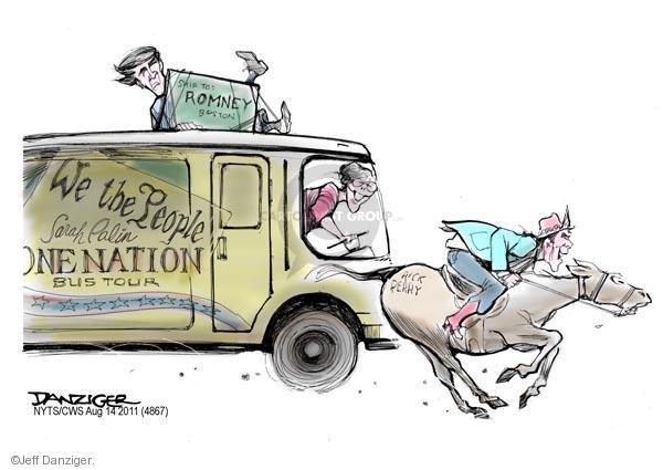 Cartoonist Jeff Danziger  Jeff Danziger's Editorial Cartoons 2011-08-14 republican