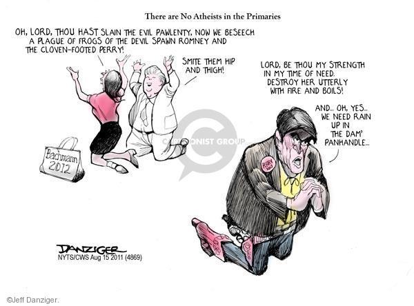 Jeff Danziger  Jeff Danziger's Editorial Cartoons 2011-08-15 Michele Bachmann