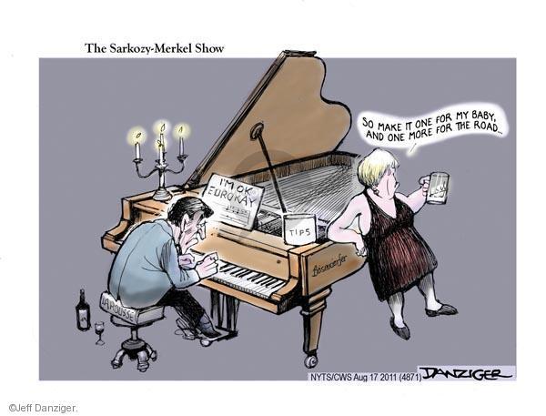 Jeff Danziger  Jeff Danziger's Editorial Cartoons 2011-08-17 road