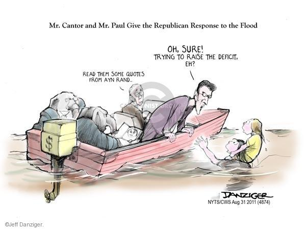 Jeff Danziger  Jeff Danziger's Editorial Cartoons 2011-08-31 anti-government