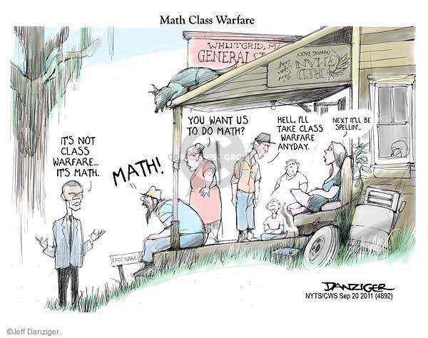 Cartoonist Jeff Danziger  Jeff Danziger's Editorial Cartoons 2011-09-20 want to be president