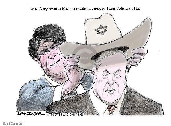 Jeff Danziger  Jeff Danziger's Editorial Cartoons 2011-09-21 Israel