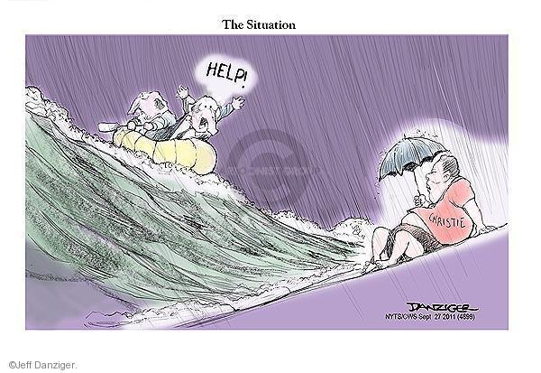 Cartoonist Jeff Danziger  Jeff Danziger's Editorial Cartoons 2011-09-27 republican