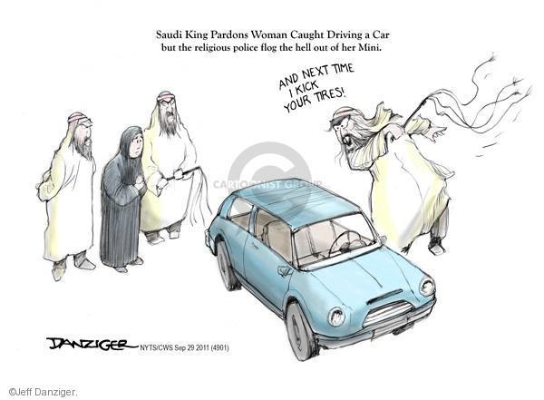 Cartoonist Jeff Danziger  Jeff Danziger's Editorial Cartoons 2011-09-29 legal