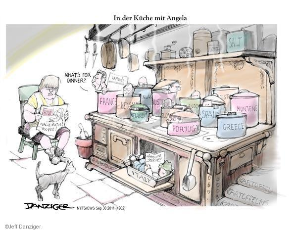 Cartoonist Jeff Danziger  Jeff Danziger's Editorial Cartoons 2011-09-30 Spain