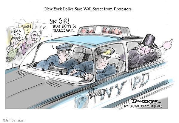 Cartoonist Jeff Danziger  Jeff Danziger's Editorial Cartoons 2011-10-02 rob