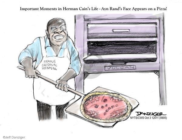 Cartoonist Jeff Danziger  Jeff Danziger's Editorial Cartoons 2011-10-03 republican politician