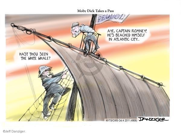 Cartoonist Jeff Danziger  Jeff Danziger's Editorial Cartoons 2011-10-05 republican politician
