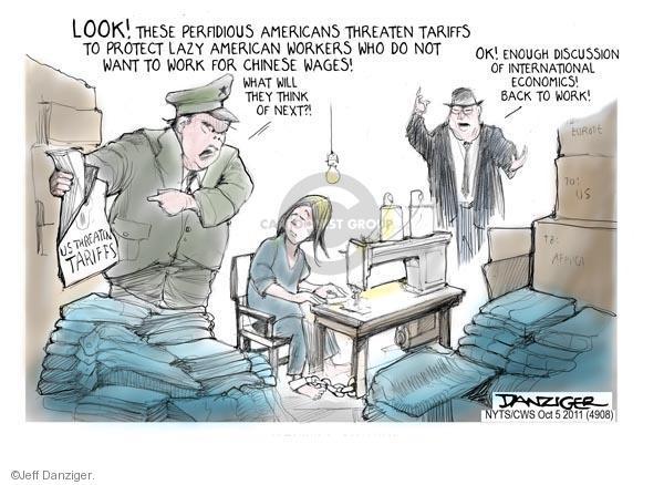 Jeff Danziger  Jeff Danziger's Editorial Cartoons 2011-10-05 United States