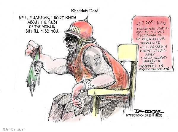 Cartoonist Jeff Danziger  Jeff Danziger's Editorial Cartoons 2011-10-20 regard