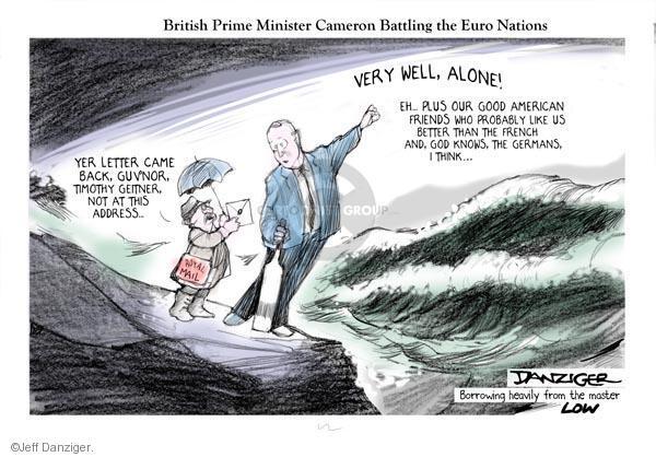 Jeff Danziger  Jeff Danziger's Editorial Cartoons 2011-10-24 United States