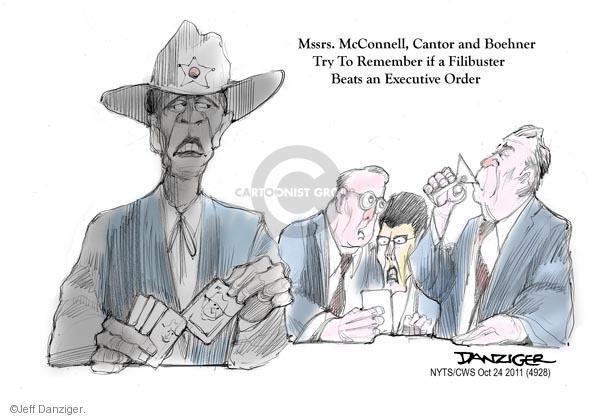Jeff Danziger  Jeff Danziger's Editorial Cartoons 2011-10-24 game card